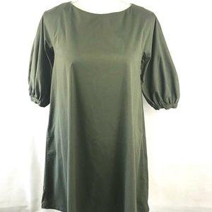 Prada Army Green Dress size 40